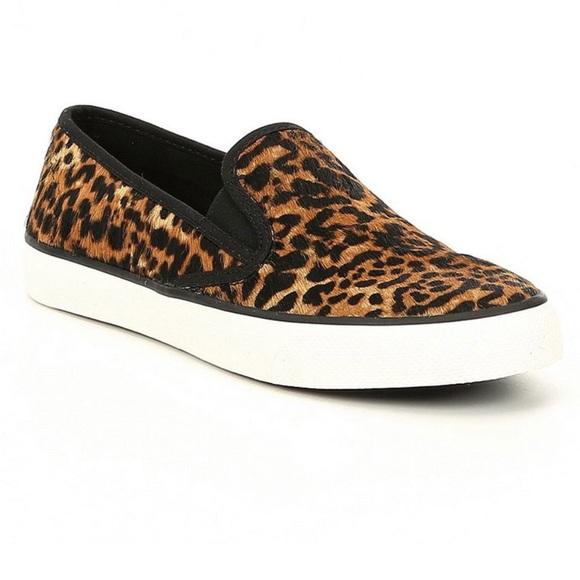 Sperry Seaside Leopard Cheetah Print